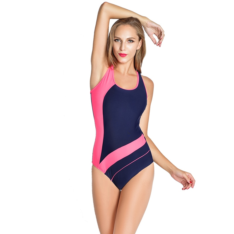 cd30adb4ce7 ... 🩱 Sports Strappy One Piece Women Swimsuit